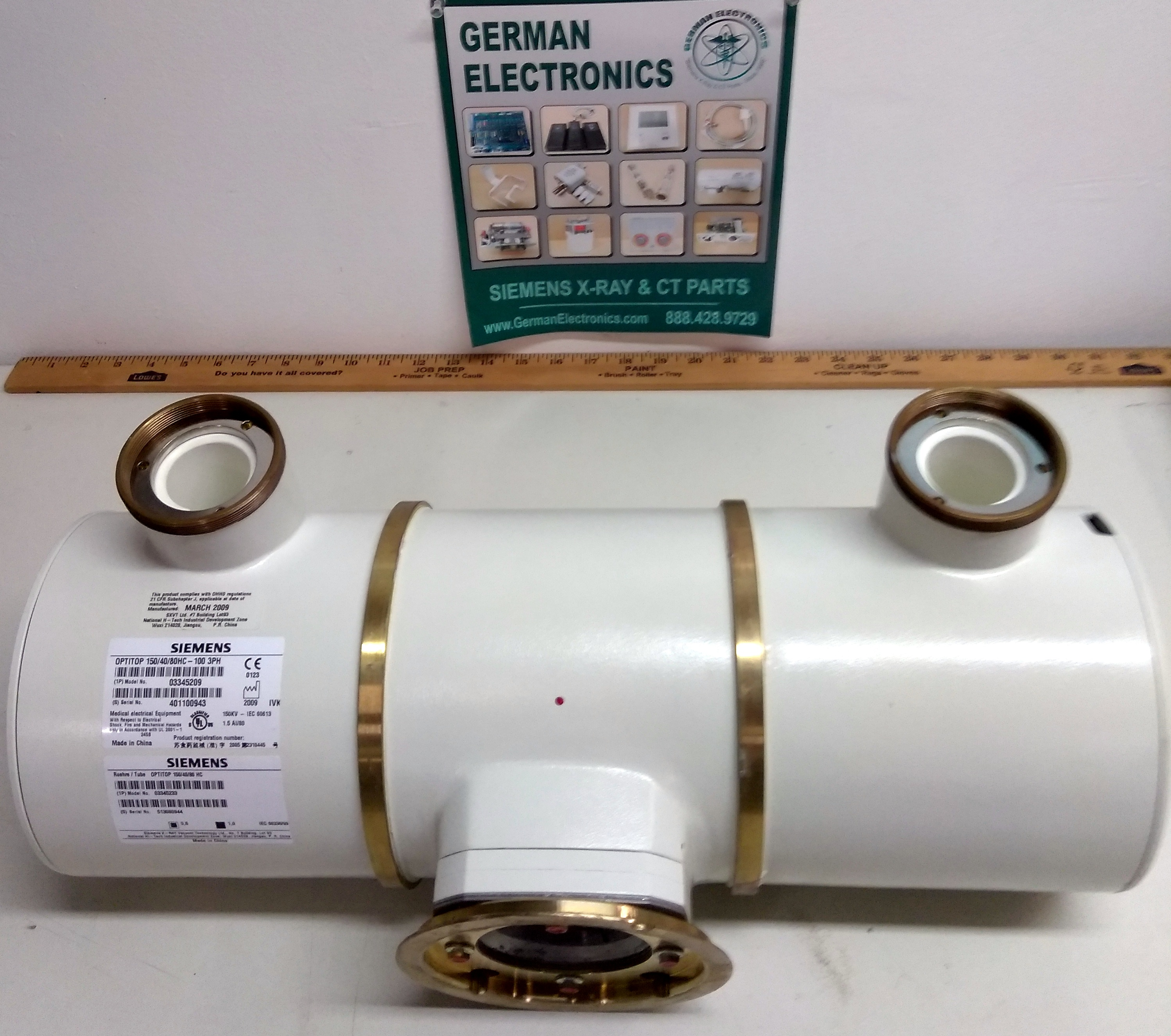 SIEMENS X-RAY TUBE FOR SALE